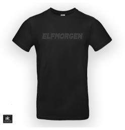 Elfmorgen T-Shirt Logo Black